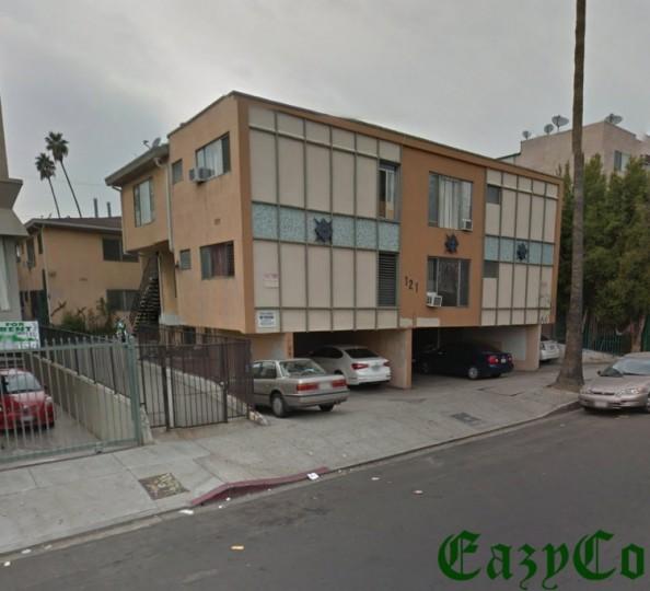 Apartments In Inglewood California: Inglewood California Small Motel / Apartment Block