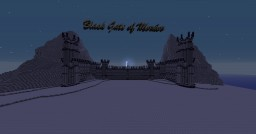 Minecraft Project - Black Gate of Mordor Minecraft Map & Project