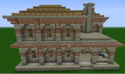 Medieval/Renaissance Blacksmith Minecraft Map & Project