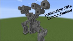 Wolfenstein The New Order: London Monitor Minecraft Map & Project