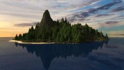 Salt Rock island! (Fantasy Island) Minecraft
