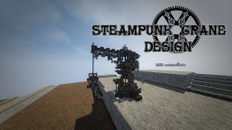 Steampunk crane Minecraft