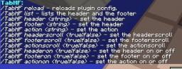 [Plugin] TabHF | Header, Footer & Action Bar | Color Codes | Scrolling & Random Colors