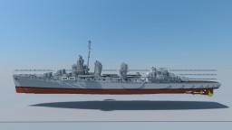 USS Fletcher DD-445 (Fletcher-class Destroyer) 4:1