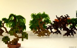 Medium Tree Pack Minecraft Map & Project