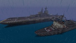 Uss KEARSARGE and uss JOHN PAUL JONES Minecraft