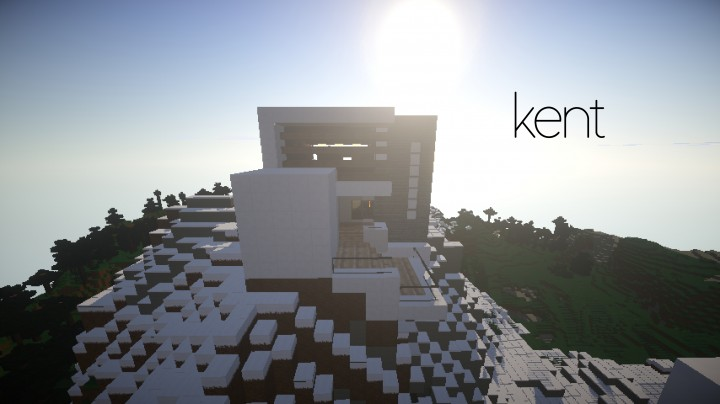 Kent minimalist mountain house minecraft project for The headcorn minimalist house kent