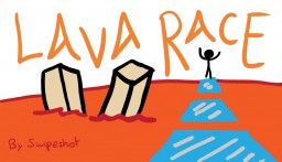 LAVA RACE (PvP Minigame) Minecraft Map & Project