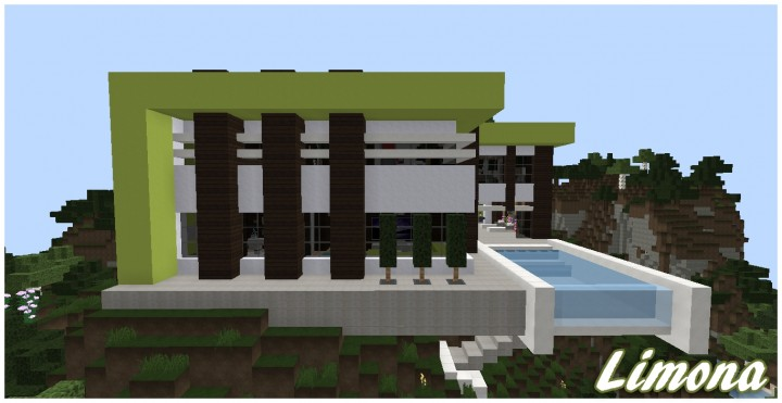 Limona: a modern cliffside home Minecraft Project on north carolina home designs, dallas home designs, best sims 3 house designs, chapel hill home designs, texas home designs, minecraft mansion designs, minecraft cliffside house designs, hudson home designs, garner home designs, asheville home designs, sims 2 house designs, mountain home plans and designs, mountainside home plans and designs, alexander home designs, little house home designs, small hillside home designs, harris home designs,