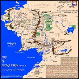 Entire Middle earth recreation! Minecraft Map & Project
