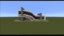 Wave Modern House Minecraft Map & Project