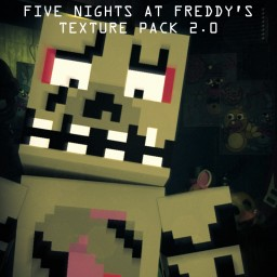 Five Nights At Freddys Texture Pack 32X (Outdated) Minecraft Texture Pack