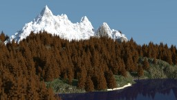 RedPine Islands -Landscape- Minecraft Project
