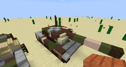 minecraft battlefield mod arsenal M1 Abrams  tank Minecraft Map & Project