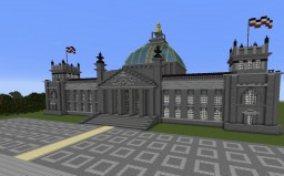 Reichstag (Pre-Fire, 1894-1933) Minecraft Map & Project