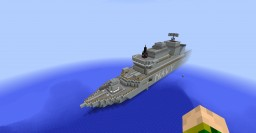 HMAS ANZAC Minecraft Map & Project