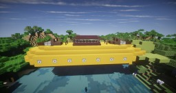 Banana Refit #1 Warship - made for Movecraft