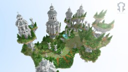 Skyblock Hub Minecraft Map & Project