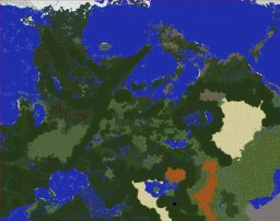 Luramion -- 20K*24K Custom Terrain Minecraft Map & Project