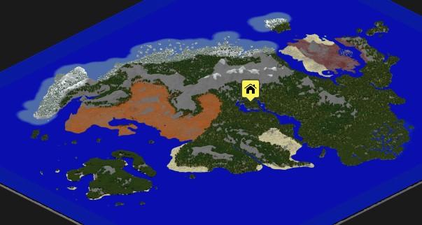 скачать карту тамриэль для майнкрафт - фото 2
