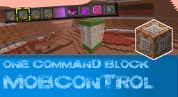 One command block: Mobcontrol Minecraft Map & Project