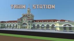 Train Station Minecraft