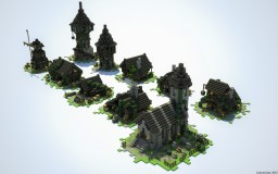 Little Medieval Bundle Minecraft Map & Project