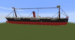 Steam Ship - SS Sultania Minecraft Map & Project