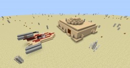Star Wars: A New Hope: Ben Kenobi's Hut Minecraft Map & Project