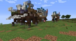 Slightly oversized gypsy wagons Minecraft Map & Project