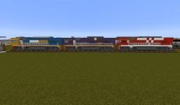 NR Class Locomotives Minecraft Project