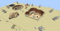 Star Wars: A New Hope: Lars Homestead Minecraft Project