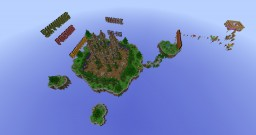 Floating hub Minecraft Map & Project