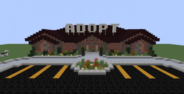 Mgc Canine Adoption Center Minecraft Project