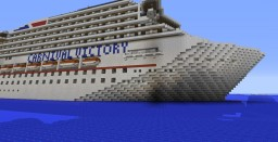 Carnival Victory Cruise Ship (Old Version) Minecraft Map & Project
