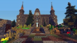 Spawn Hub for Rising Heroes Network Minecraft Map & Project