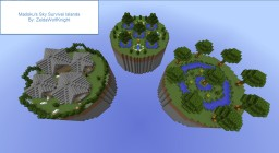 [Challenge Map] Madoku's Sky Survival Islands Minecraft Project