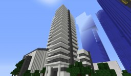 Modern Office Building [Modern Town Project] Minecraft Map & Project