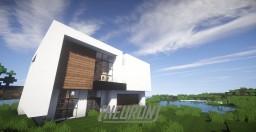 Neuron - Modern House Minecraft Map & Project
