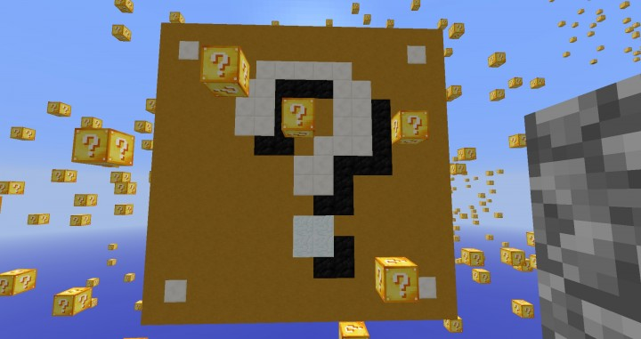 карты для майнкрафт 1.7.2 с лаки блоками #10