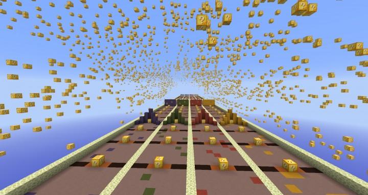 Lucky Block Lucky Block Race Map Minecraft