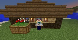 How to Build: A Simple but Charming House Minecraft Blog