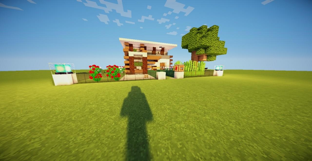 Casa moderna by david gta5 minecraft project for Casa moderna gta sa