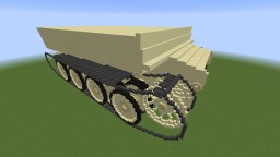 Henschel PzKpfw VI Tiger I Ausf. E (Sd.Kfz. 181) - 20:1 Minecraft Map & Project