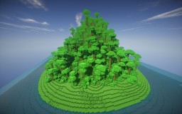 Custom Jungle Mountain [Survival Ready] Minecraft Map & Project
