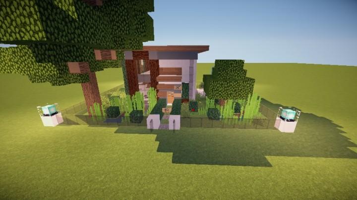 Casa Moderna 2 Interior Editable 2 Pisos Minecraft Project