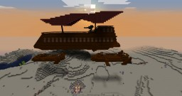 Star Wars Return of the Jedi - Jabba The Hutts Sail Barge Minecraft