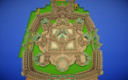 Mega Build: Castle Thenadrius [WIP] Minecraft Map & Project