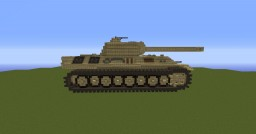 Panther Tank Minecraft Map & Project