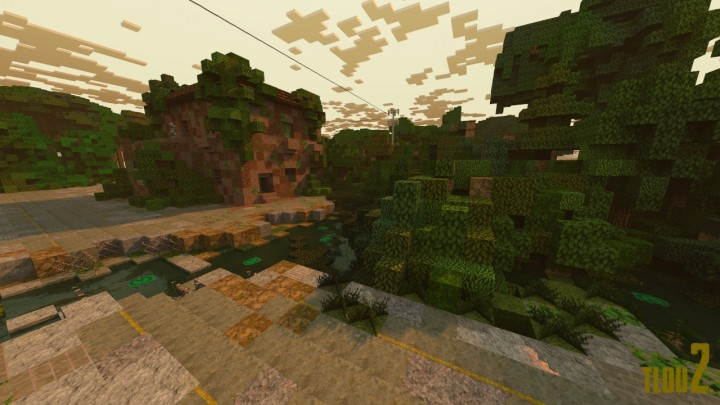Screenshot is from an adventure map made using this pack!